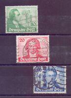 Berlin 1949 - Goethe - MiNr. 61/63 Wellenstempel - Michel 180,00 € (836)