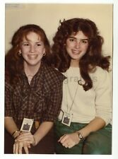 Brooke Shields & Melissa Gilbert - Vintage Candid by Peter Warrack