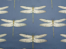 Harlequin Curtain Fabric 'Demoiselle' 1.7 METRES Ink/Chartreuse 100% Cotton