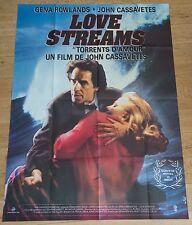 Affiche de cinéma : LOVE STREAMS de JOHN CASSAVETES