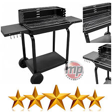 Benross Garden Patio Outdoor Sturdy Steel Trolley Charcoal BBQ Barbecues Grill