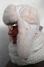 Tschapka mcburn negro talla 54 invierno gorro señora gorro fell gorra acogedor caliente