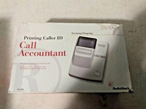 Printing Caller Id Call Accountant Radioshack 43-446