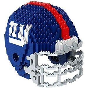 New York Giants Helmet BRXLZ Puzzle 3D Toy, Puzzle Game Lego Football Model