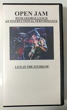 Video VHS - GEORGE LYNCH DOKKEN - Open Jam 1985 PRO (VG) WORLDWIDE