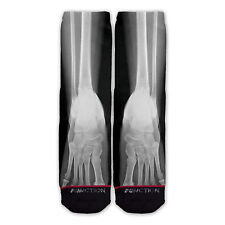 Function - X-Ray Foot Sublimated Sock novelty socks sublimation socks x-ray sock