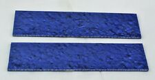 "KIRINITE ARCTIC BLUE ICE 3/8"" Scales for Knife Handle Making Woodwork Bushcraft"