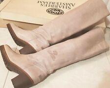 SHABBIES AMSTERDAM Stivali Donna Beige Scarpe Donna Woman Boots 39