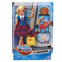 DC Super Hero Girls FRF88 Supergirl Transforming Doll, Multi-Colour