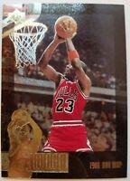 1996 SP Jordan Collection JC17 Michael Jordan, Rare Gold Foil Insert, Sharp!