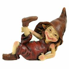 Miniature Fairy Garden Laying Pixie w/ Leg Stretched - Buy 3 Save $5