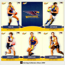 2013 Select AFL Champions Trading Cards Base Team Set West Coast(12)