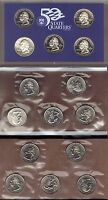1999-P, D & S CLAD STATE QUARTER PROOF AND MINT SET SET ( 15 COINS )