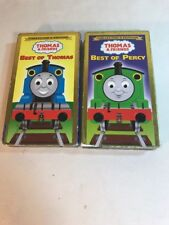 Thomas the Train & Friends Best of Thomas & Percy VHS LOT Collectors Edition