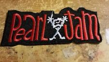 PEARL JAM COLLECTABLE RARE VINTAGE PATCH EMBROIDED 90'S METAL LIVE