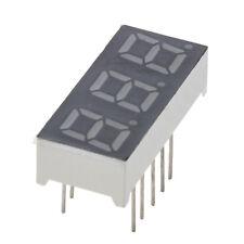 "5Pcs Common Anode 12 Pin 3 Bit 7 Segment 0.28"" Red LED Display Digital Tube DT"