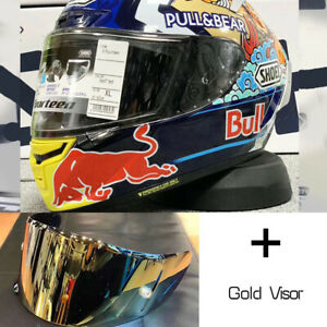 Shoei X14 X-Spirit 3 Motocross Full Face Helmet Red Bull Marc Marquez Motegi 3