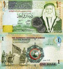 JORDAN 1 Dinar Banknote World Paper Money UNC Currency Pick p-34g Bill Note