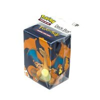 Ultra Pro Pokemon TCG 2020 Charizard Deck Box Card Storage/Holder With Divider