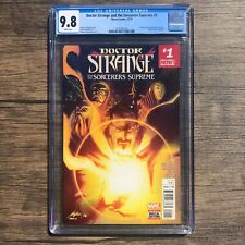 DOCTOR STRANGE AND THE SORCERERS SUPREME #1 CGC 9.8 Cover A 1st App. Kushala++