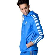 Adidas Originals Chaqueta de Hombre Itasca Windbreaker Snake Deporte Viento Azul