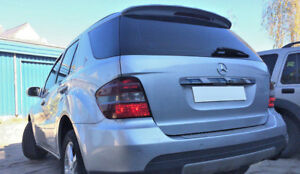 FOR MERCEDES ML W164 ROOF SPOILER COVER WING DOOR TAILGATE