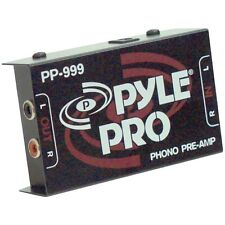 PYLE PRO PP999 Phono Turntable Pre-Amplifier