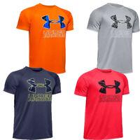 Under Armour UA Boys Kids T Shirt TShirt Hybrid Short Sleeve Tee Tops T-Shirt