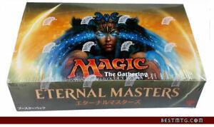 MTG Eternal Masters Booster Box Sealed Japanese