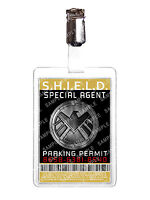 Marvel Agents of S.H.I.E.L.D. Parking Permit Cosplay Costume Comic Con Christmas
