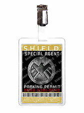 Marvel Agents of S.H.I.E.L.D. Parking Permit ID Badge Cosplay Costume Comic Con