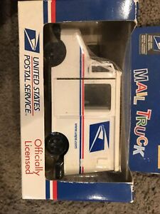 """United States Postal Service Mail Delivery Truck USPS 5"""" Diecast 1:36 Pullback"""