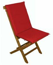 Galileo Casa 2404378 Coussin pour Chaise pliante Rouge