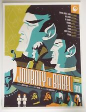 JOURNEY TO BABEL STAR TREK MONDO POSTER BY TOM WHALEN  LTD EDITION SCREEN PRINT