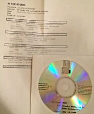 RADIO SHOW: IN THE STUDIO 7/12/04 CSN w/DAVID CROSBY, STEPHEN STILLS,GRAHAM NASH