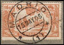 1905.Ed:º266.Quijote.10 pts naranja.PCat:225€