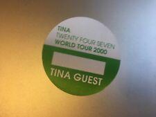 Tina Turner - 24/7 World Tour 2000 - Tina Guest Pass