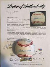 2000 WSC NY Yankees Team Signed Baseball 22 AUTO'S Rivera Clemens PSA/DNA LOA