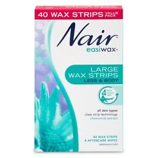 Nair Easiwax Large Wax Strips 40 'With Chamomile Extract