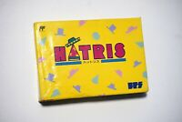 Famicom Hatris boxed Japan FC game US Seller