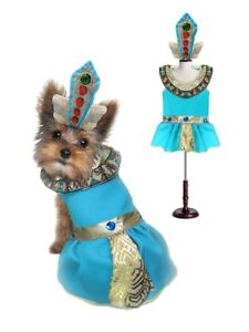 CLEOPATRA DOG COSTUMES - Dress Your Dogs as Jeweled Egyptian Princess Outfit