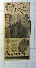 1942 Pelaw Floor Polish Only Available At Cws