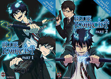 Blue Exorcist . The Complete Series . 25 Episodes + OVA . Anime . 4 DVD . NEU