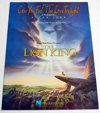 Partition sheet music film THE LION KING - ELTON JOHN : Can You Feel The Love