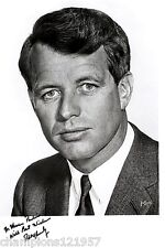 Robert Kennedy + + AUTOGRAFO + + presidenti i candidati 60er J