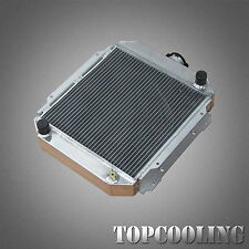 3 Row Aluminum Radiator For Nissan Datsun 120 Y B110 A12 A12T 1.2L MT New Alloy