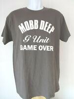 GRAY MEDIUM MOBB DEEP G UNIT GAME OVER Tee SHIRT rap music HIP HOP M T