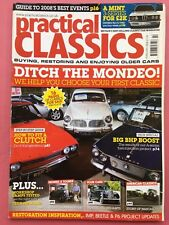 PRACTICAL CLASSICS - February 2008 - Triumph Dolomite - 1937 Morris Tourer