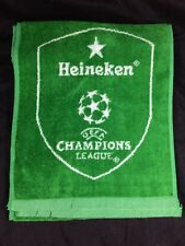 "Heineken Beer Bar Towel Soccer Champions League 59"" x 11"" Pub Man Cave"