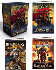 Beyonders 1-3 Box Set (hc) World Without Heroes.Rebellion,Prophecy Brandon Mull